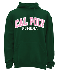 *Limited Sizes: Hood Classic Arched Pink & White On Dk Green