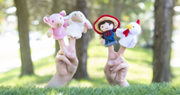 "Farm Finger Puppet ASST 3"" ASST (1 Unit)"