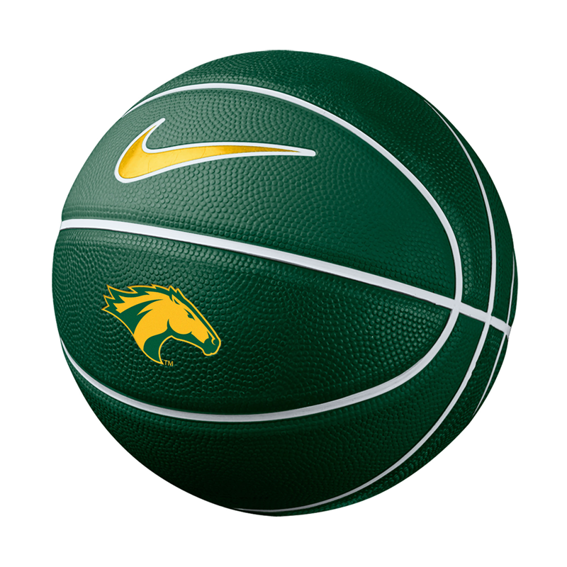 Mini Basketball Green With Gold Lines (SKU 124603111331)