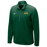 Nike 1/4 Zip Drifit Training Classic Over Broncos Gorge Green