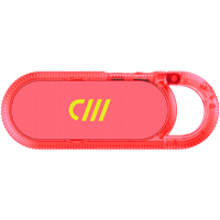 Candywirez Wireless Carabiner Speaker - Neon Pink