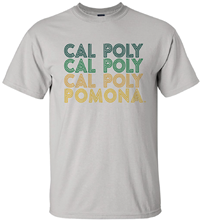 *New Tee Triple Cal Poly Wrapped Lines Pale Grey