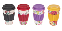 Bamboo Fiber Travel Mugs ASST Colors (1 Unit)