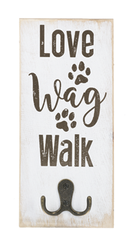 Pet Leash Wall Hook - Love Wag Walk