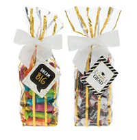 *Graduation Candy Bags - Hard & Chewy Candy