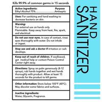 ALCOHOL 75% HAND SANITIZER SPRAY USA MADE 2 OZ (PPE)