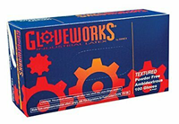 Gloveworks Gloves Large 100/Bx Industrial Latex Powder Free (PPE)