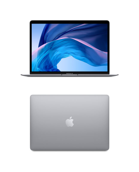 13-inch MacBook Air: 1.1GHz dual-core 10th-generation Intel Core i3 processor, 256GB - Space Gray (SKU 124959241363)